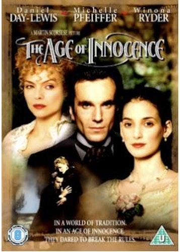 Age of Innocence/Oskuldens tid DVD (Import Sv.Text)