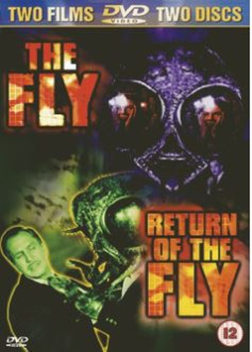 The Fly (1958) & Return of the Fly (1959) (2-disc) DVD (Import Sv.Text)