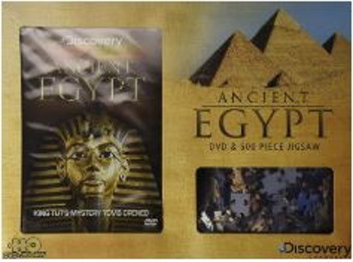 Discovery Channel - Ancient Egypt Gift Set 500 bitars Pussel + DVD (import)