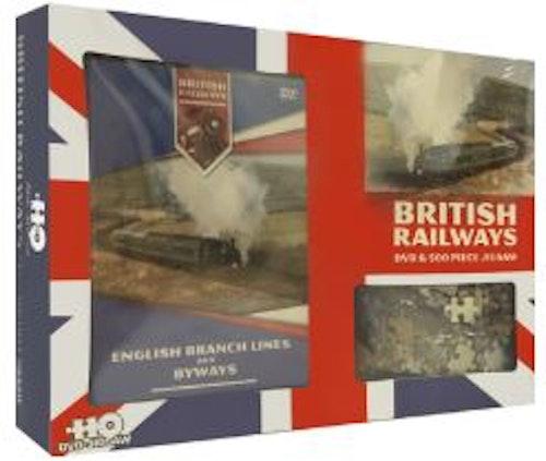 British Railways Gift Set DVD & pussel (import)