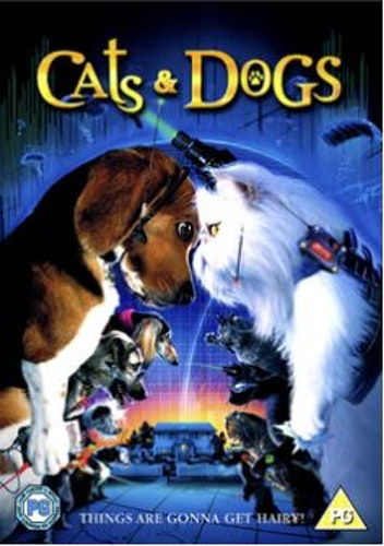 Cats & Dogs DVD (Import)