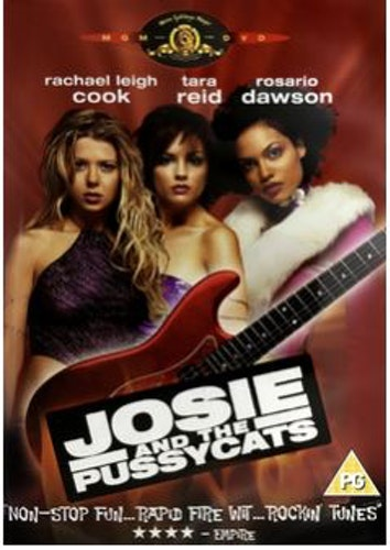 Josie and the pussycats DVD (Import Sv.Text)