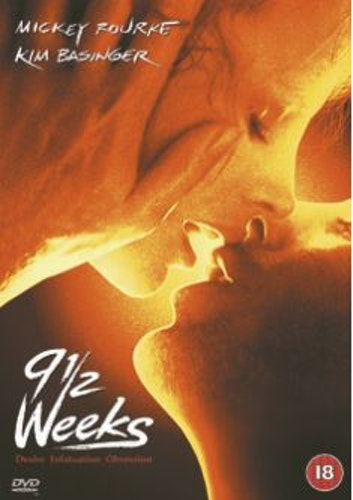 9 1/2 Weeks DVD (Import Sv.Text)