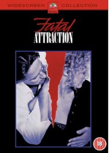 Farlig förbindelse/Fatal Attraction DVD (Import Sv.Text)