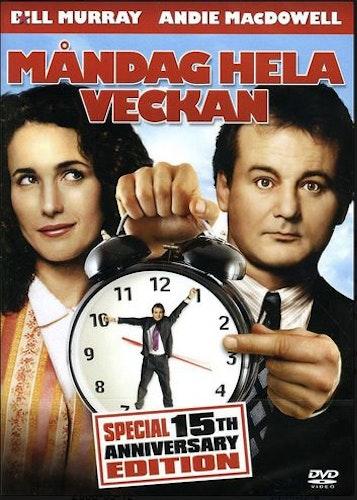 Måndag Hela Veckan/Groundhog day DVD
