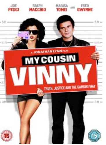 My cousin Vinny DVD (Import Sv.Text)