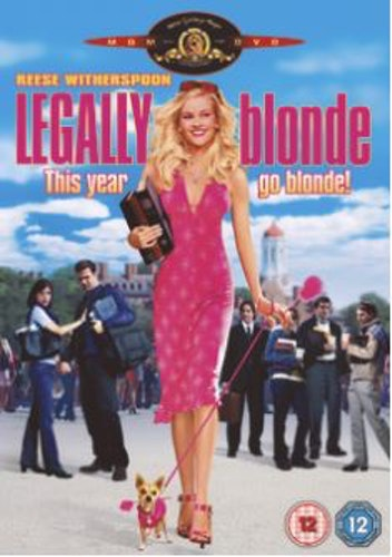 Legally Blonde DVD (Import Sv.Text)