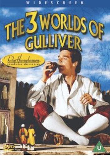 3 Three Worlds of Gulliver DVD (Import Sv.Text)