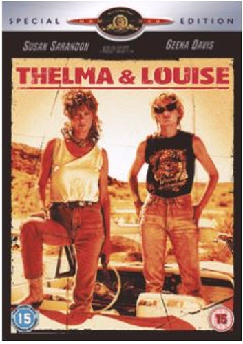 Thelma & Louise DVD (Import Sv.Text)