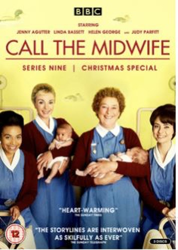 Barnmorskan i East End/Call the midwife - Säsong 9 DVD (import)
