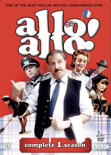 Allo Allo - Säsong 1 (2-disc) DVD