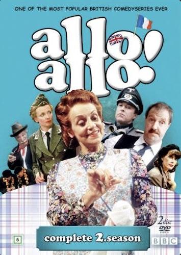 Allo Allo - Säsong 2 (2-disc) DVD