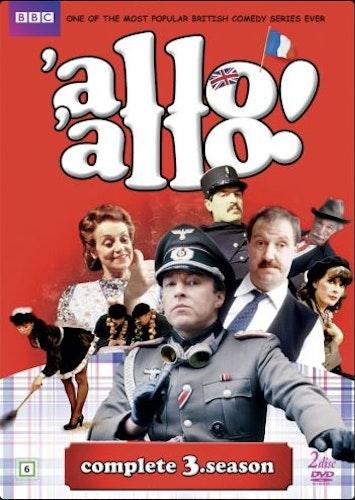 Allo Allo - Säsong 3 (2-disc) DVD