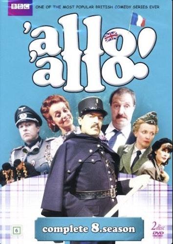 Allo Allo - Säsong 8 (2-disc) DVD