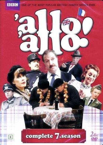Allo Allo - Säsong 7 (2-disc) DVD