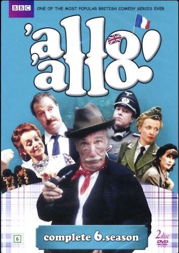 Allo Allo - Säsong 6 (2-disc) DVD