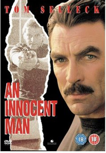 An innocent man DVD (Import Sv.Text)
