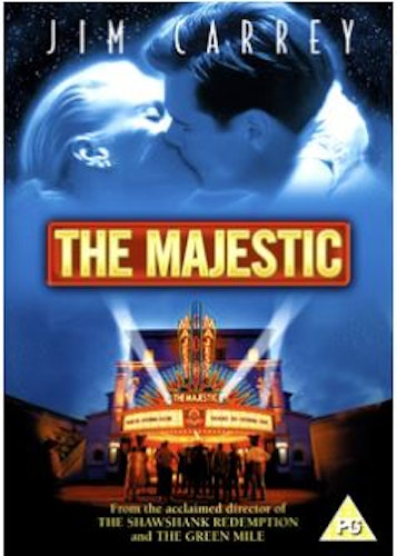 The Majestic DVD (Import) Jim Carrey
