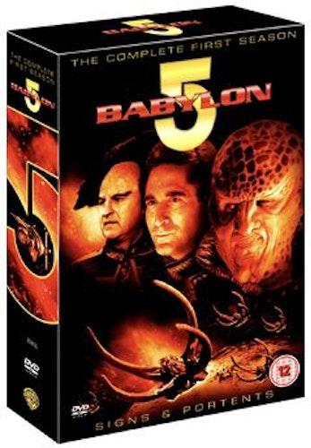 Babylon 5 - Säsong 1 DVD (import)