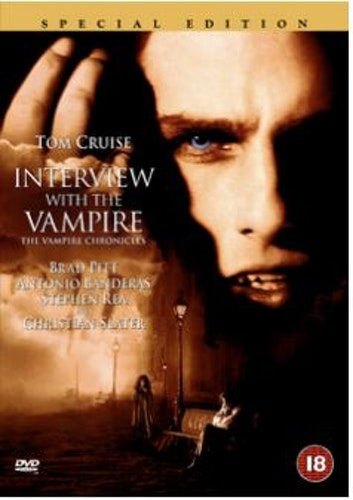 Interview with the Vampire DVD (Import Sv.Text)