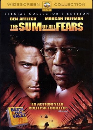 The Sum of All Fears DVD