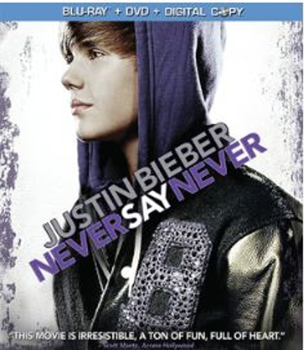 Justin Bieber: Never Say Never (Blu-ray+DVD) import