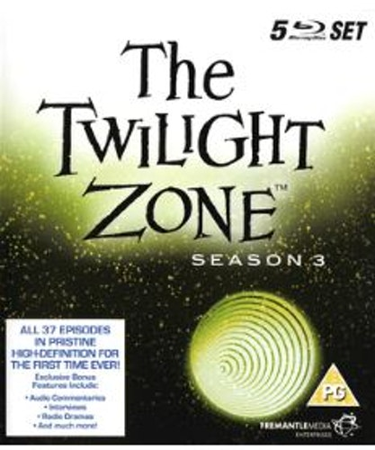 The Twilight Zone Season 3 Blu-Ray (import)