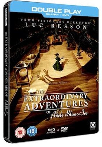 The Extraordinary Adventures Of Adele Blanc-Sec Blu-Ray + DVD (import)