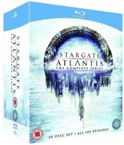 Stargate Atlantis - Complete series (Blu-ray) (Import)
