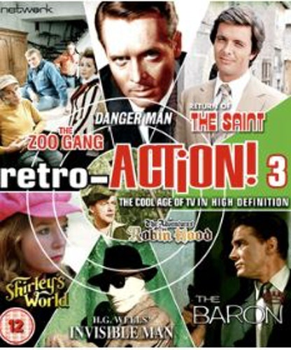 Retro-Action! - Volume 3 Blu-Ray (import)