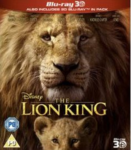 Disneys The Lion King (import) 3D bluray