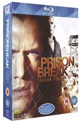 Prison Break säsong 3 bluray (import)