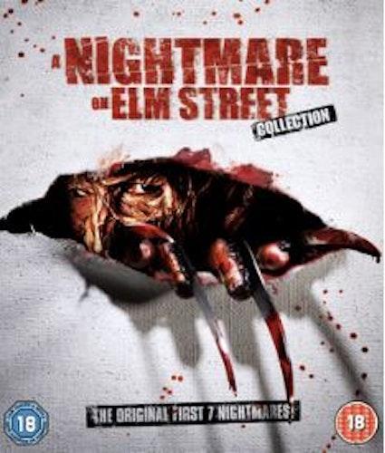 Nightmare on Elm Street 1-7 Box (Blu-ray) (Import Sv.Text)