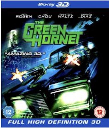 Green Hornet 3D (Blu-ray) (Import Sv.Text)