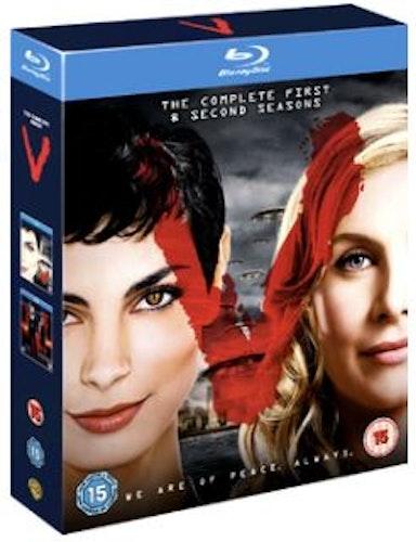 V - Season 1 & 2 (New) (Blu-ray) (Import Sv.Text)