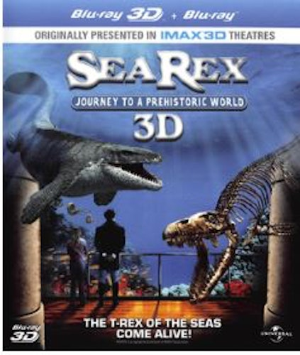 Sea Rex - Journey To A Prehistoric World (Blu-ray 3D) (Import Sv.Text)