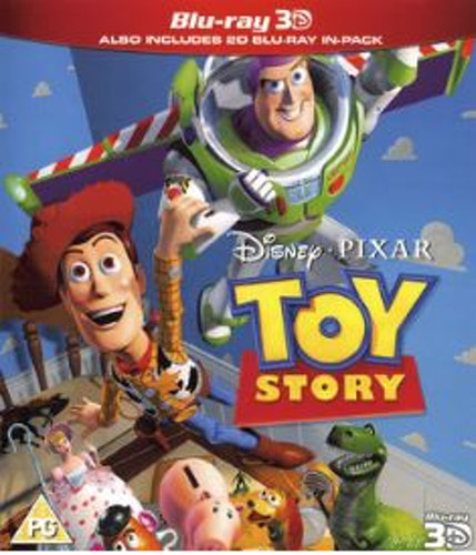Toy Story 3D Blu-Ray (import)