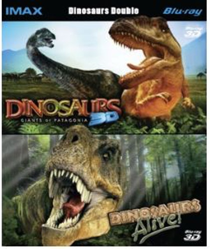 Dinosaurs - Giants Of Patagonia / Dinosaurs Alive! 3D Blu-Ray (import)