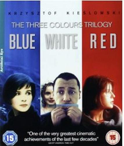 Krzysztof Kieslowski: Three Colours Trilogy (Blu-ray) (Import)