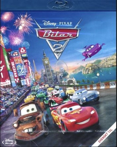 Disney Pixar Klassiker 12 - Bilar 2 (Blu-ray)