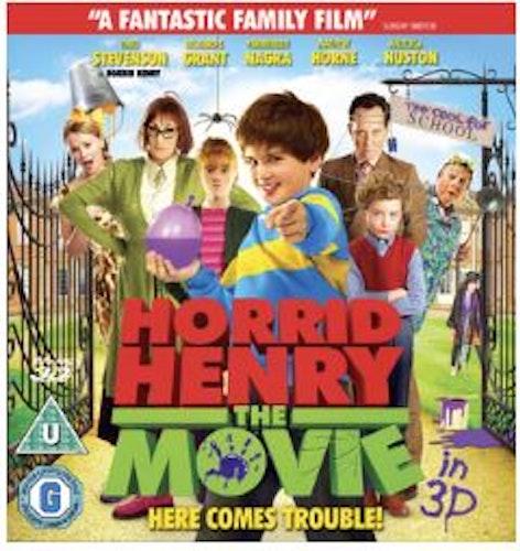 Horrid Henry - The Movie Blu-Ray 3D (import)