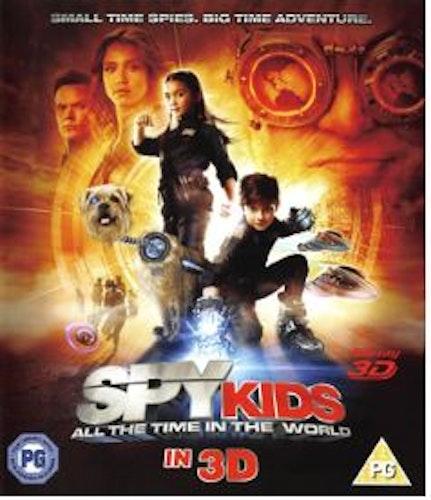 Spy Kids 4 (Blu-ray 3D) import