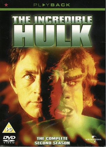 Incredible Hulk - Säsong 2 DVD UTGÅENDE