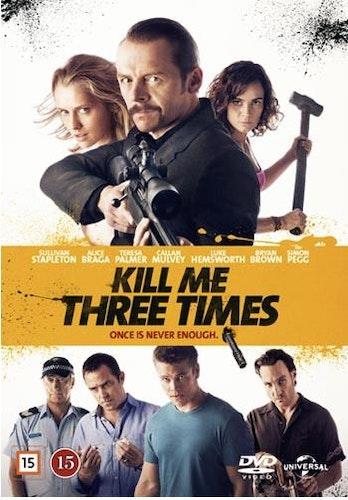 Kill Me Three Times DVD UTGÅENDE