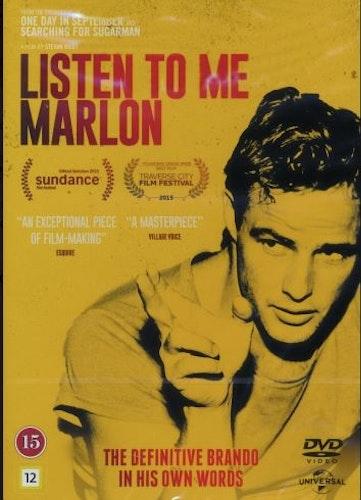 Listen to Me Marlon DVD UTGÅENDE