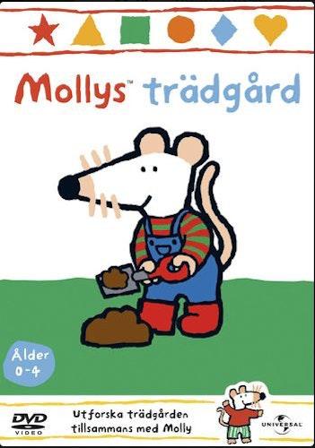 Mollys trädgård  Vol 5 DVD UTGÅENDE Molly Mus