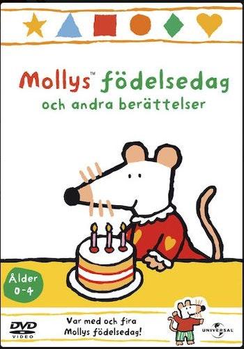 Mollys födelsedag och andra berättelser vol 8 DVD UTGÅENDE Molly Mus