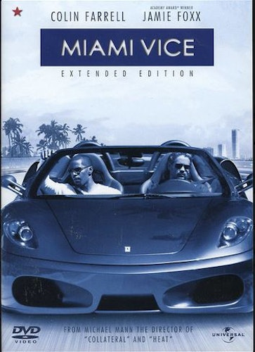 Miami Vice - Extended Edition DVD UTGÅENDE