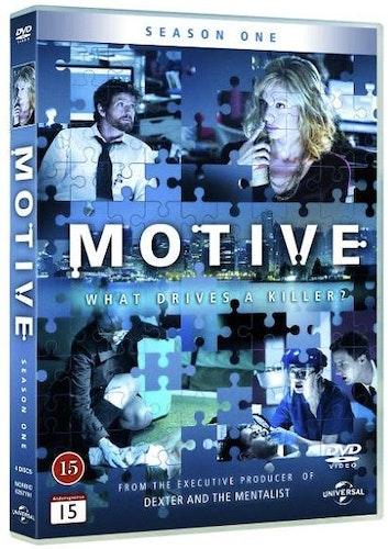 Motive - Säsong 1 DVD UTGÅENDE
