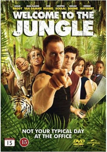 Welcome to the Jungle (2013) DVD UTGÅENDE